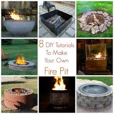 Make Your Own Firepit 8 Diy Tutorials To Make Your Own Pit Home And Garden