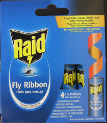fly ribbon raid fly ribbon glue traps for indoor outdoor no insecticide 4