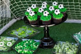 soccer party ideas soccer party birthday party ideas photo 4 of 11 catch my party