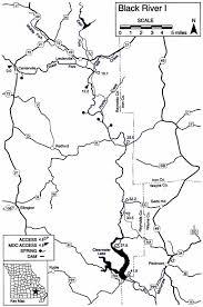 Mdc Map Missouri U0027s Black River