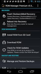 apk for android 2 3 rom manager apk for android