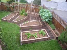 raised garden beds against fence crowdbuild for