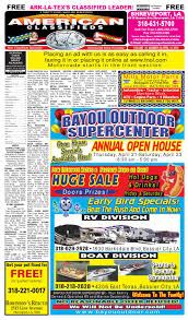 american classifieds shreveport la april14th 2016 by shreveport