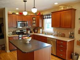 kitchen wall colors with brown cabinets cottage home bar modern
