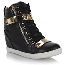 womens boots cheap uk womens concealed wedge trainers hi tops sneakers boots