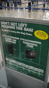 frontier baggage fees free without the r spells fee