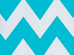 turquoise wrapping paper blue white chevron stripe gift wrap wrapping paper