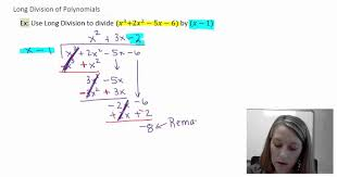 2 introduction and examples of polynomial long division youtube