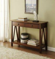 Accent Tables For Foyer Console Tables Ebay