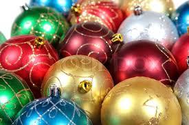 multi coloured ornaments up stock photo colourbox
