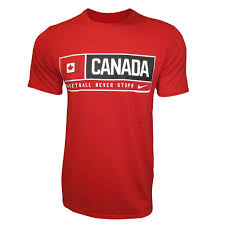 Candaian Flag Red Nike Basketball Never Stops Dri Fit T Shirt With Canadian Flag