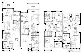 single story duplex designs floor plans images home fixtures