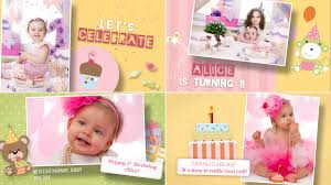 happy birthday template free for after effects version