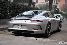 silver porsche panamera gt silver 2017 porsche 911 r with yellow accents looks the part