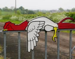 chicken planter etsy