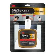 3m 12 fl oz large hole wall repair kit case of 4 fpp kit the