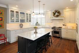 kitchen cabinets island white kitchen cabinets with black island rapflava