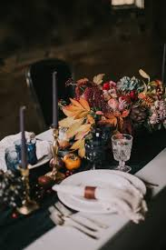 7 colorful fall wedding centerpiece ideas brides