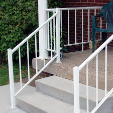 Banister And Handrail Aluminum Porch And Deck Railing Fence Center