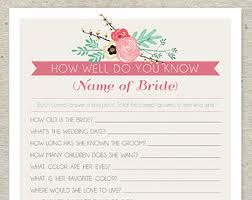 bridal shower question bridal shower