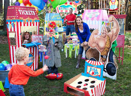 carnival party supplies carnival basic party pack for 16 walmart