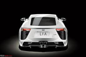 lexus lfa 0 60 new lexus lfa revealed 4 8 v10 550 bhp 0 100 in u003c 4 sec team bhp