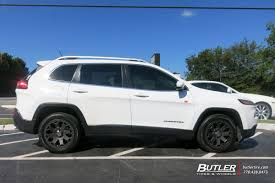 jeep cherokee rhino jeep cherokee with 18in black rhino warlord wheels exclusively
