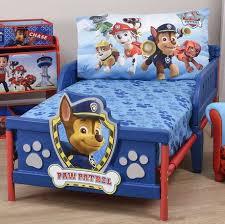 Walmart Toddler Bed Paw Patrol Toddler Bed Sheet And Pillowcase Set Walmart Canada
