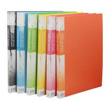 plastic photo album plastic file folder a3 data book color page 20 insert clip 8k