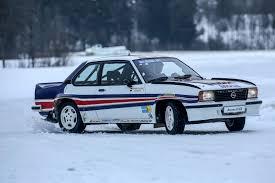 opel car 1950 driving walter röhrl u0027s opel ascona 400 rally car autoclassics com