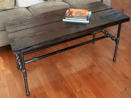 reclaimed wood table with metal legs reclaimed wood coffee table metal legs wallowaoregon com diy