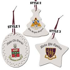 sorority and fraternity ornaments something