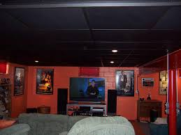 Ceiling Fan Suspended Ceiling by Stylish Black Drop Ceiling Modern Ceiling Design Hang Ceiling