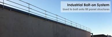 Temporary Handrail Systems East West Roof Guardrail Height Safety Solutions To Hire Or Buy