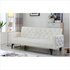 modern tufted leather sofa milano leather sofa modern tufted bonded leather sleeper futon