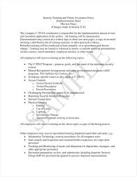 10 training policy templates free pdf format download free