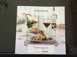 coffret smartbox table et chambre d hote coffret cadeau smartbox tables exquises week end à deux