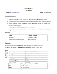 Best Resume Format Accountant by Best Resume Format For Accountant In Word Format Free Resume