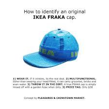 pleasures u0026 chinatown market turned ikea u0027s famous bag into a cap
