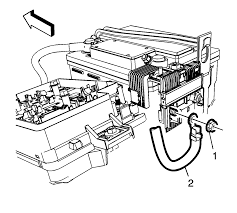 repair instructions battery positive cable replacement 2012