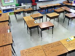 Student Desks For Sale by Encouragement Notes On Each Student U0027s Desk With Dry Erase Marker