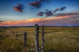 Montana landscapes images Montana roadside evening tau zero jpg