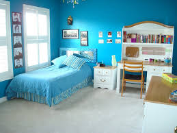 blue tween bedroom ideas red color wooden storage drawers unique