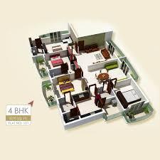 4 bhk apartment premier habitat