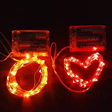 copper wire led lights 3m 30leds copper wire led light string battery operated lights for