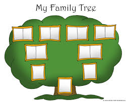 cute family tree template for kids 3 family tree local history