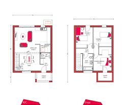 plan maison etage 3 chambres plan maison a etage 3 chambres 2 80m2 systembase co con plan de