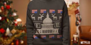sweater house house of cards sweater on the hunt