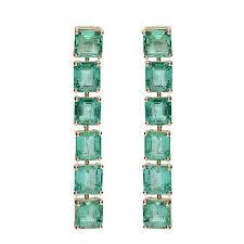 emerald earrings getana emerald earrings greenwich st jewelers