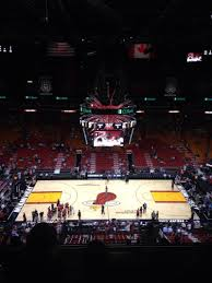 american airlines arena section 309 row 11 seat 3 miami heat